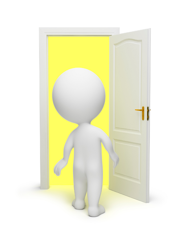 stock-photo-12717780-3d-small-people-open-door